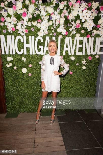 Giuliana Rancic attends Michigan Avenue Magazine Celebrates Its Spring Fashion Issue with Giuliana Rancic at the Godfrey Hotel Chicago on February 27...