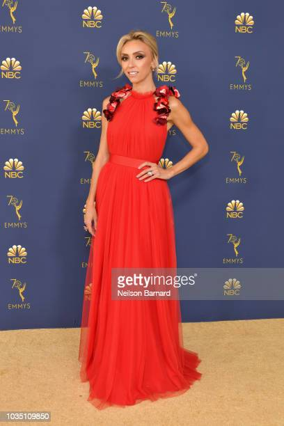 Giuliana Rancic attends the 70th Emmy Awards at Microsoft Theater on September 17 2018 in Los Angeles California