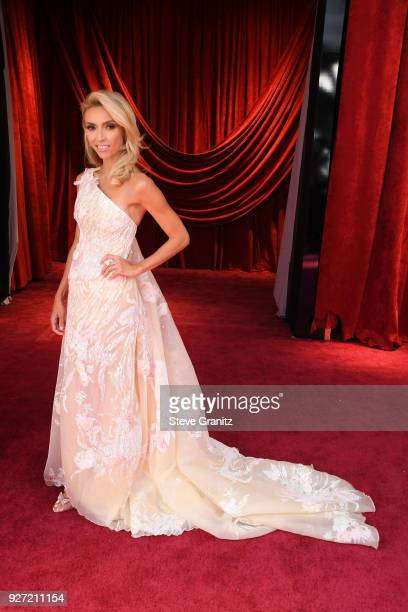Giuliana Rancic attends the 90th Annual Academy Awards at Hollywood & Highland Center on March 4, 2018 in Hollywood, California.