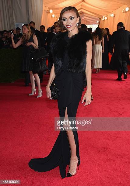Giuliana Rancic attends the Charles James Beyond Fashion Costume Institute Gala at the Metropolitan Museum of Art on May 5 2014 in New York City