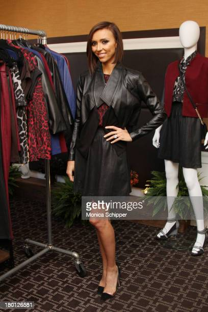 Giuliana Rancic attends the HSN Fashion Week Lounge at the Empire Hotel on September 9 2013 in New York City