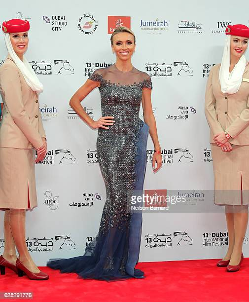 Giuliana Rancic attends the Opening Night Gala during day one of the 13th annual Dubai International Film Festival held at the Madinat Jumeriah...