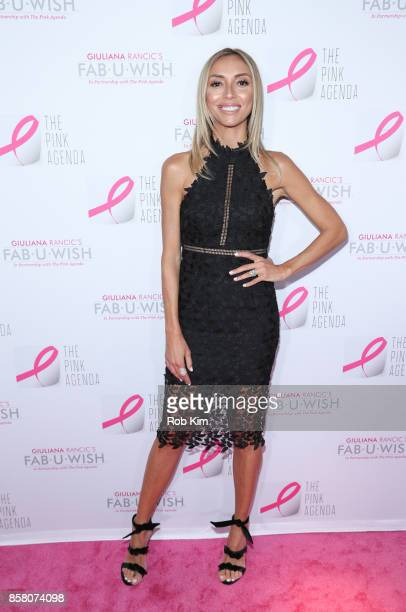 Giuliana Rancic attends The Pink Agenda 10th Annual Gala at Three Sixty Degrees on October 5 2017 in New York City