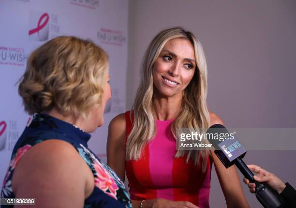 Giuliana Rancic attends The Pink Agenda's Annual Gala at Tribeca Rooftop on October 11 2018 in New York City