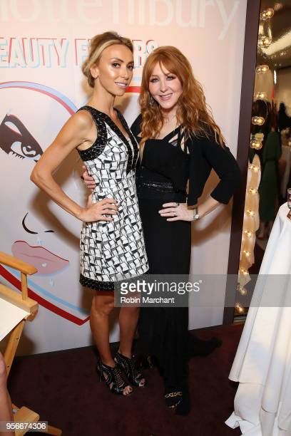 Giuliana Rancic poses with Charlotte Tilbury after her masterclass at Nordstrom Michigan Avenue Charlotte Tilbury Personal Appearance on May 9 2018...