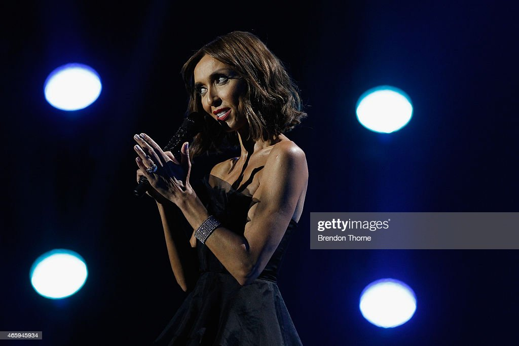 Giuliana Rancic presents on stage during the 2015 ASTRA Awards at The Star on March 12, 2015 in Sydney, Australia.