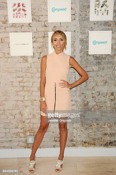 Giuliana Rancic revealed how COMPEED Blister Cushions are a musthave for surviving a summer of strappy sandals at a pedicure event on May 25 2016 in...