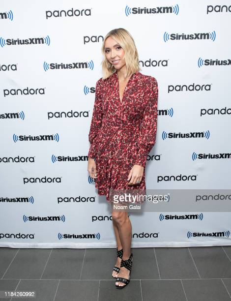 Giuliana Rancic visits the SiriusXM Studios on October 29, 2019 in New York City.