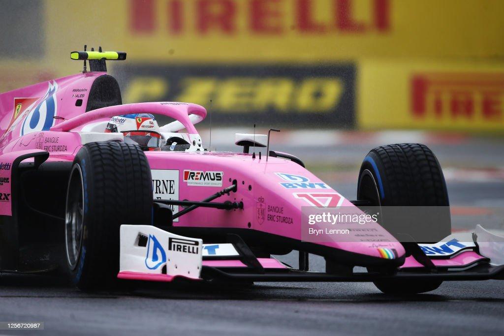 Formula 2 Championship - Round 3:Budapest - Practice & Qualifying : News Photo