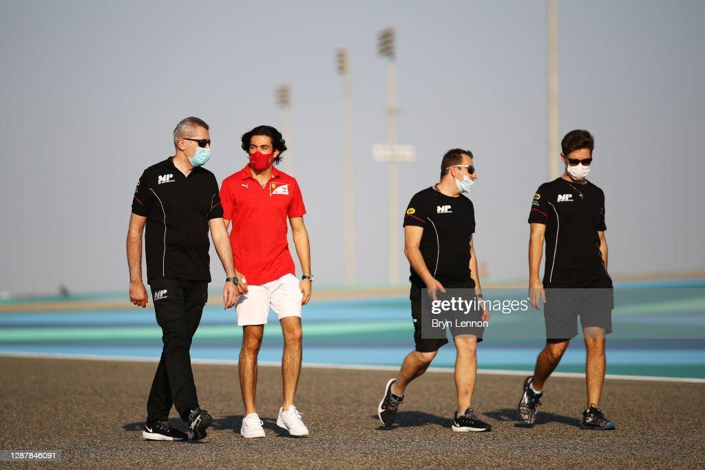 Formula 2 Championship - Round 11:Sakhir - Previews : News Photo