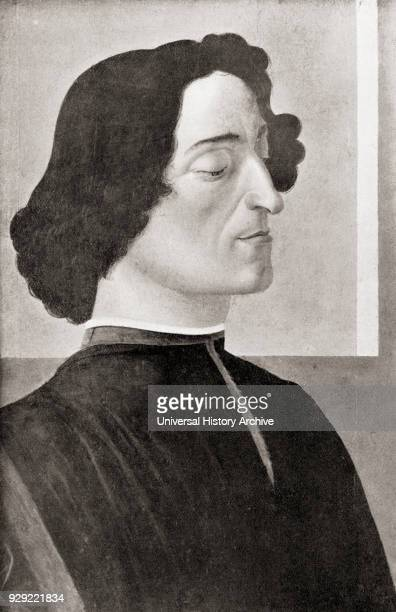 Giuliano de' Medici 1453 –1478 Second son of Piero de' Medici and Lucrezia Tornabuoni and coruler of Florence with his brother Lorenzo the...