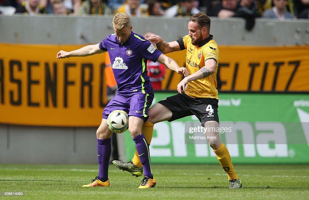 Dynamo Dresden v Erzgebirge Aue - 3. Liga