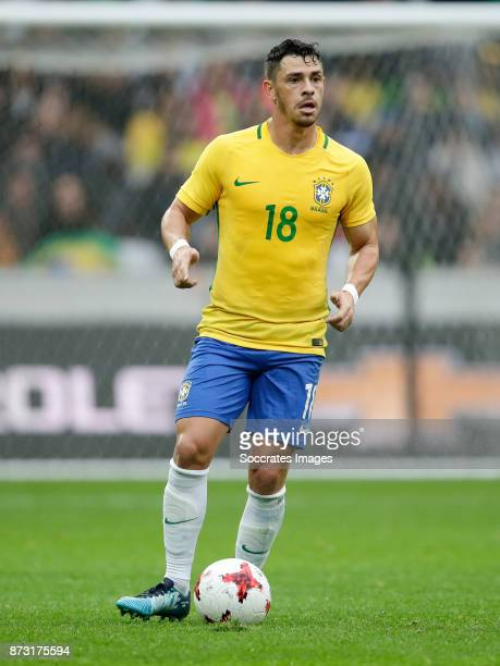 Giuliano of Brazil during the International Friendly match between Japan v Brazil at the Stade Pierre Mauroy on November 10 2017 in Lille France
