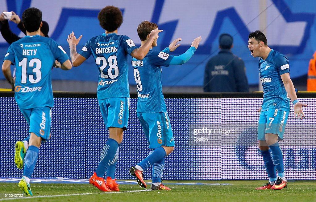 FC Zenit St. Petersburg vs FC Spartak Moscow - Russian Premier League : News Photo
