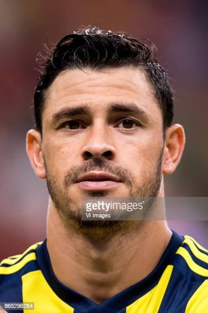 Giuliano Victor de Paula of Fenerbahce SK during the Turkish Spor Toto Super Lig football match between Galatasaray SK and Fenerbahce AS on October...