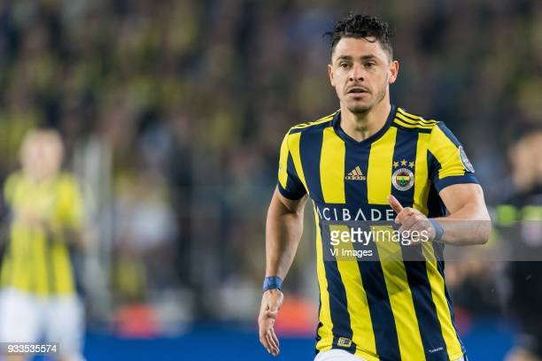 Giuliano Victor de Paula of Fenerbahce SK during the Turkish Spor Toto Super Lig match Fenerbahce AS and Galatasaray AS at the Sukru Saracoglu...