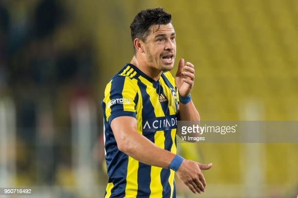 Giuliano Victor de Paula of Fenerbahce SK during the Turkish Spor Toto Super Lig match Fenerbahce AS and Antalyaspor AS at the Sukru Saracoglu...