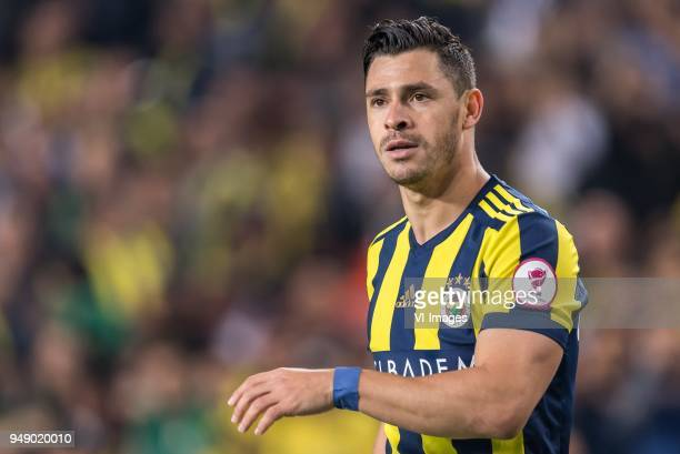 Giuliano Victor de Paula of Fenerbahce SK during the Ziraat Turkish Cup match Fenerbahce AS and Besiktas AS at the Sukru Saracoglu Stadium on April...