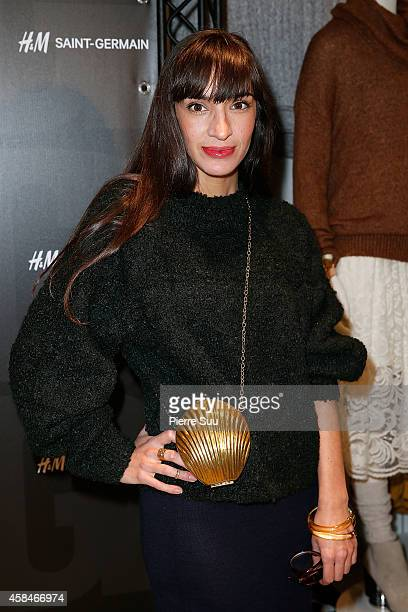 Giulietta Mora attends Alexander Wang x HM Collection Launch at HM Boulevard SaintGermain on November 5 2014 in Paris France