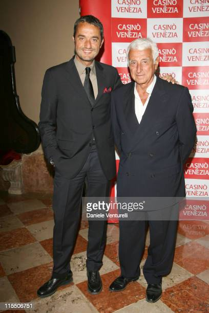 "Giulio Base and Fulvio Lucisano during The 63rd International Venice Film Festival - ""The Devil Wears Prada"" - Party in Venice, Italy."