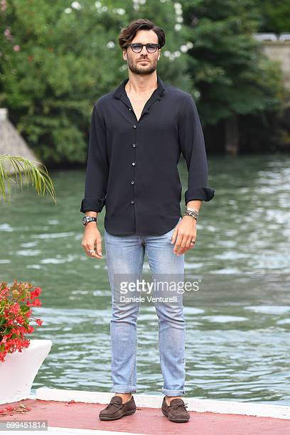 Giulio Berruti arrives at Lido during the 73rd Venice Film Festivalon September 5 2016 in Venice Italy
