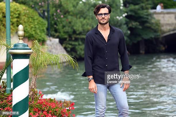 Giulio Berruti arrives at Lido during the 73rd Venice Film Festivalon September 5 2016 in Venice Italy