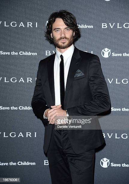 Giulio Berruti attend the Bulgari 'Stop Think Give' exhibition preview and cocktail at Palazzo Pecci Blunt on November 15 2012 in Rome Italy