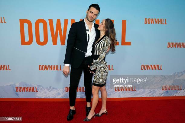 Giulio Berruti attend the premiere of Downhill at SVA Theater on February 12 2020 in New York City