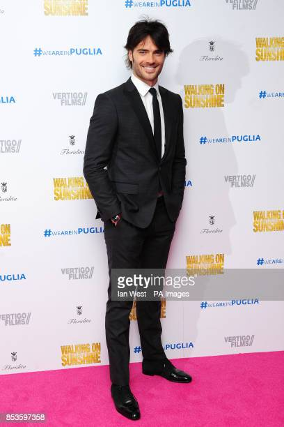 Giulio Berruti attending the Walking On Sunshine premiere at Vue West End Leicester Square London