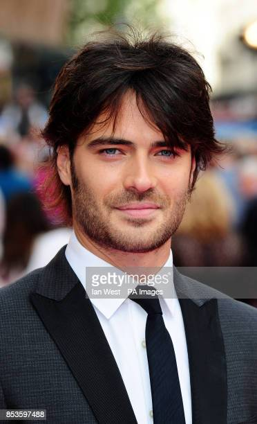Giulio Berruti attending the Walking On Sunshine premiere at Vue West End Leicester Square London PRESS ASSOCIATION Photo Picture date Wednesday June...