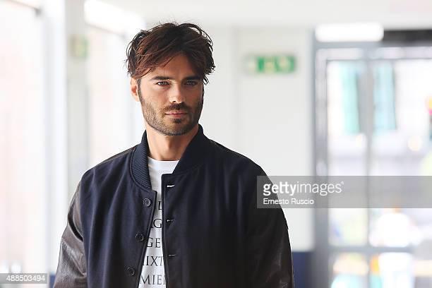 Giulio Berruti attends a photocall for 'Tutte Lo Vogliono' on September 16 2015 in Rome Italy