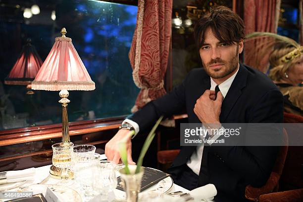 Giulio Berruti attends Bvlgari Le Gemme Men's Collection on July 11 2016 in Prague Czech Republic
