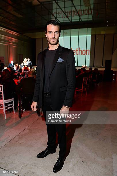 Giulio Berruti attends the Gala Telethon 2013 Roma during The 8th Rome Film Festival on November 13 2013 in Rome Italy
