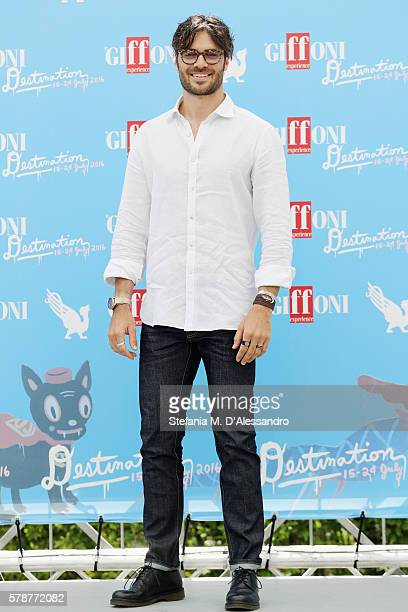Giulio Berruti attends the Giffoni Film Festival photocall on July 22 2016 in Giffoni Valle Piana Italy
