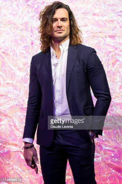 Giulio Berruti attends the Huawei Fashion Flair event on May 09 2019 in Milan Italy
