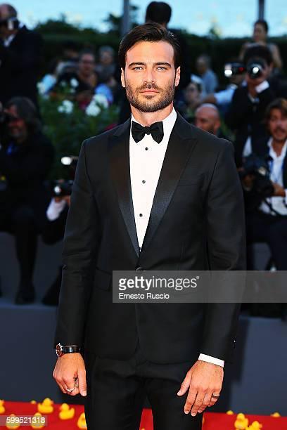 Giulio Berruti attends the premiere of 'Piuma' during the 73rd Venice Film Festival at Sala Grande on September 5 2016 in Venice Italy