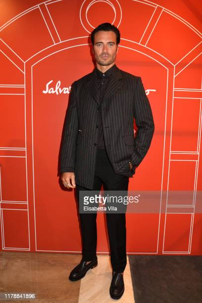 Giulio Berruti attends the Reopening of Salvatore Ferragamo men's store on October 03 2019 in Rome Italy