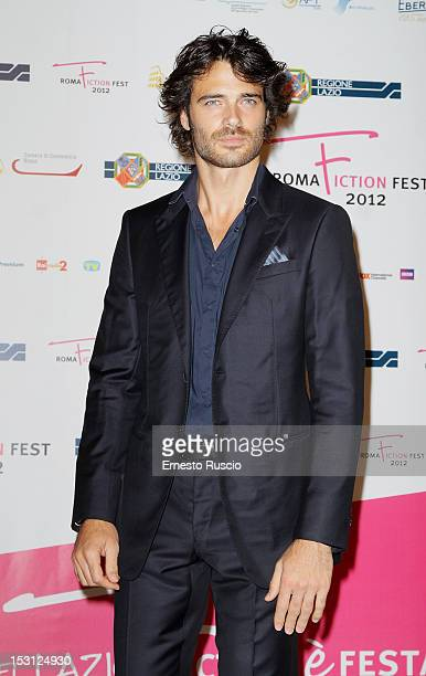 Giulio Berruti attends the ' RomaFictionFest 2012 Opening Ceremony' at Auditorium Parco Della Musica on September 30 2012 in Rome Italy