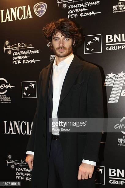 Giulio Berruti attends the Telethon Gala 2011 during the 6th International Rome Film Festival on October 28 2011 in Rome Italy