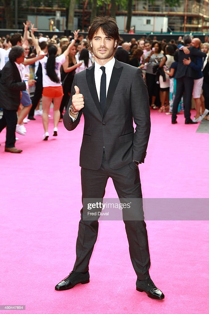 Giulio Berruti attends the UK Premiere of 'Walking On Sunshine' at Vue West End on June 11, 2014 in London, England.