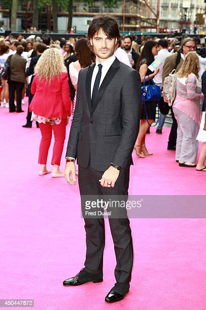 Giulio Berruti attends the UK Premiere of Walking On Sunshine at Vue West End on June 11 2014 in London England