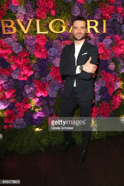 Giulio Berruti during the Bulgari PreOscars party at hotel Chateau Marmont on February 25 2017 in Los Angeles California
