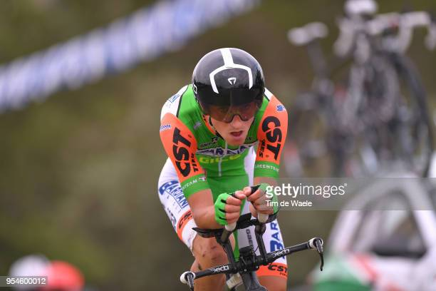 Giulio Ciccone of Italy and Team Bardiani CSF / during the 101th Tour of Italy 2018, Stage 1 a 9,7km Individual Time Trial from Jerusalem to...