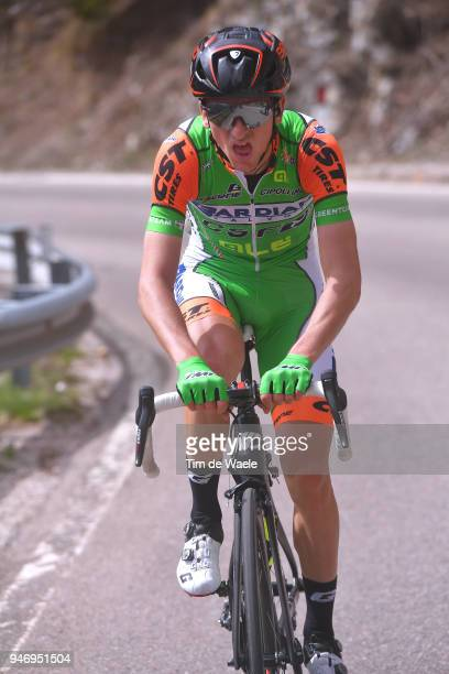 Giulio Ciccone of Italy and Team Bardiani CSF / during the 42nd Tour of the Alps 2018 Stage 1 a 1346km stage from Arco to Folgaria 1160m on April 16...