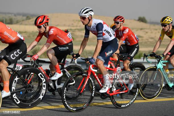 Giulio Ciccone of Italy and Team Trek - Segafredo / Peloton / during the 6th UAE Tour 2020, Stage 1 a 148km stage from Dubai - The Pointe to Dubai -...