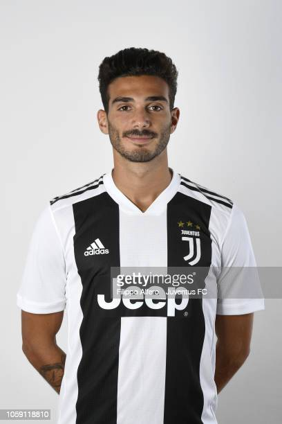 Giulio Parodi during Juventus U23 Headshots at Juventus Center Vinovo on August 31 2018 in Vinovo Italy