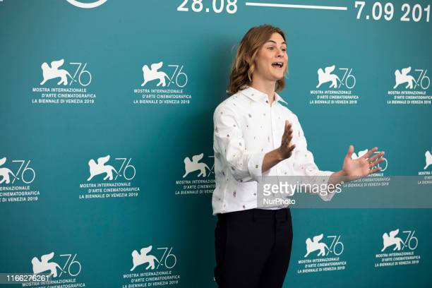 Giulio Pranno attends the ''Tutto il mio folle amore'' Photocall during the 76th Venice Film Festival at on September 06, 2019 in Venice, Italy.