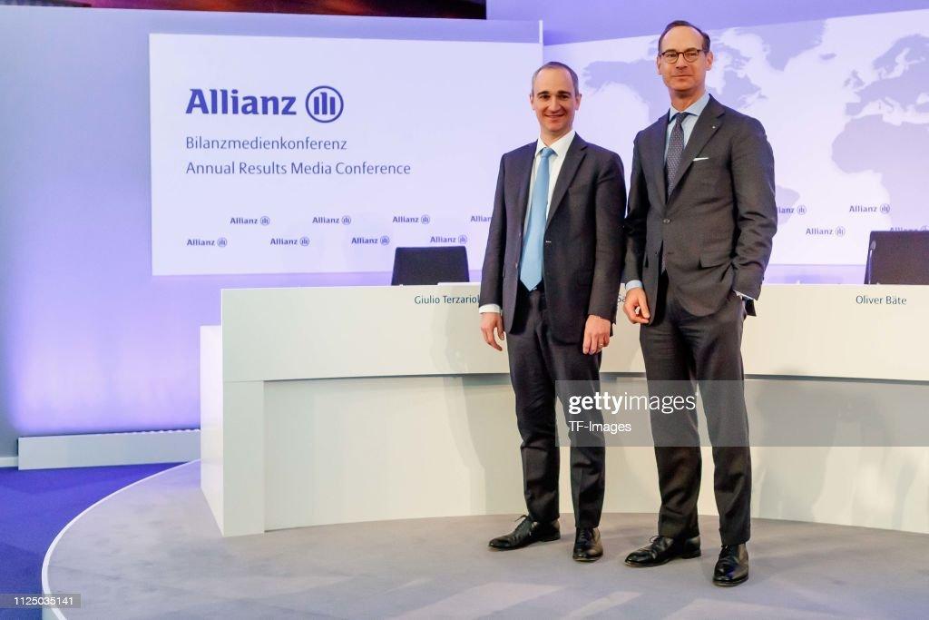 DEU: Annual Results Press Conference by Alianz