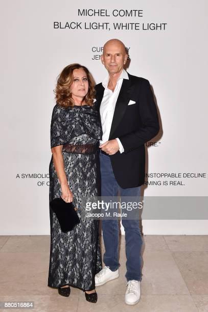 Giuseppe Ambrosini attends Michel Comte Black Light White Light Opening at Triennale di Milano on November 27 2017 in Milan Italy