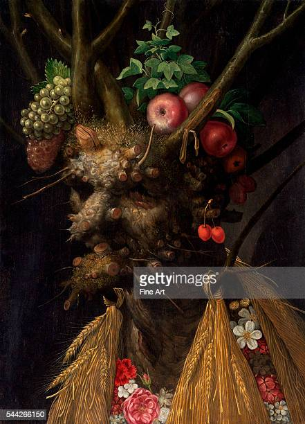 Giuseppe Arcimboldo Four Seasons in One Head c 1590 oil on panel 604 x 447 cm National Gallery Washington DC